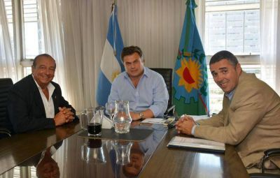 Por viviendas y temas sociales, Sánchez se reunió con ministro de Desarrollo Social
