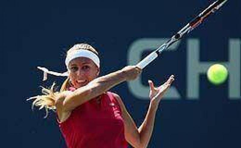Dura eliminaci�n de Gisela Dulko en el US Open