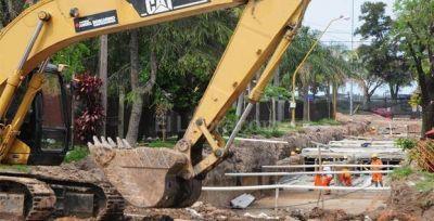 Camino Viejo a Esperanza: avanzan las obras hídricas