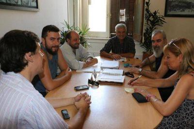 El Ejecutivo recibió al Sindicato para discutir varios temas rumbo a la discusión salarial
