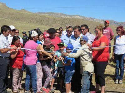 Villa Llanquín cuenta con nuevo sistema de agua potable