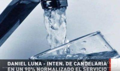 Destacan que el servicio de agua potable en Candelaria está normalizado en un 90 por ciento