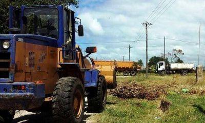 Se recolectaron más de 600 toneladas de basura en barrios del Sur