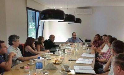 Reunión entre el Foro de la Construcción y Acción Marplatense