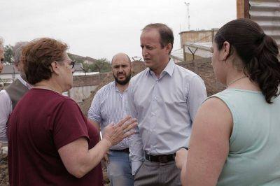Construyen una red de desagües en Budge para evitar inundaciones
