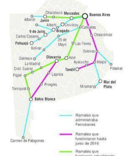 Más de cien pueblos y ciudades aguardan el restablecimiento del servicio de trenes