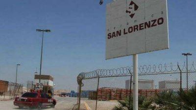 Alerta en Madryn por 50 despidos en Cerámica San Lorenzo