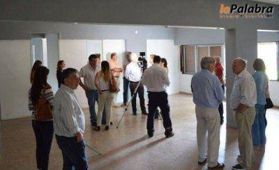 Recorrieron el edificio donde funcionará el Centro de Monitoreo