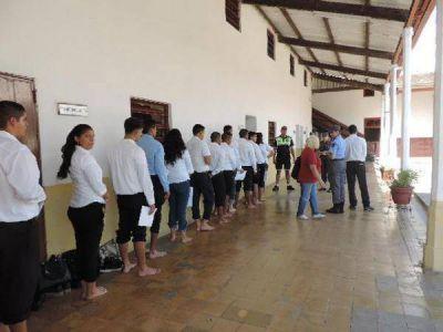Se preinscribieron 3.450 jóvenes para el ingreso a la Policía de Tucumán