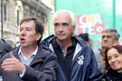 La CTA Perón se encamina a su primer paro nacional con el liderazgo de Ricardo Peidro