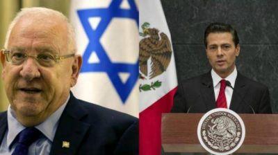 El presidente de Israel habló con su par mexicano en un esfuerzo por superar la crisis diplomática