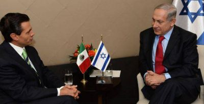 """Netanyahu: """"Mi relación con el Presidente de México es excelente"""""""