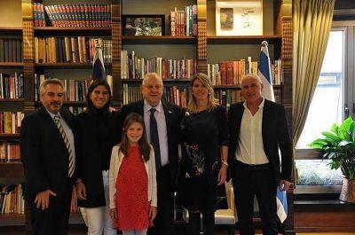 El presidente de Israel recibió a las hijas de Alberto Nisman