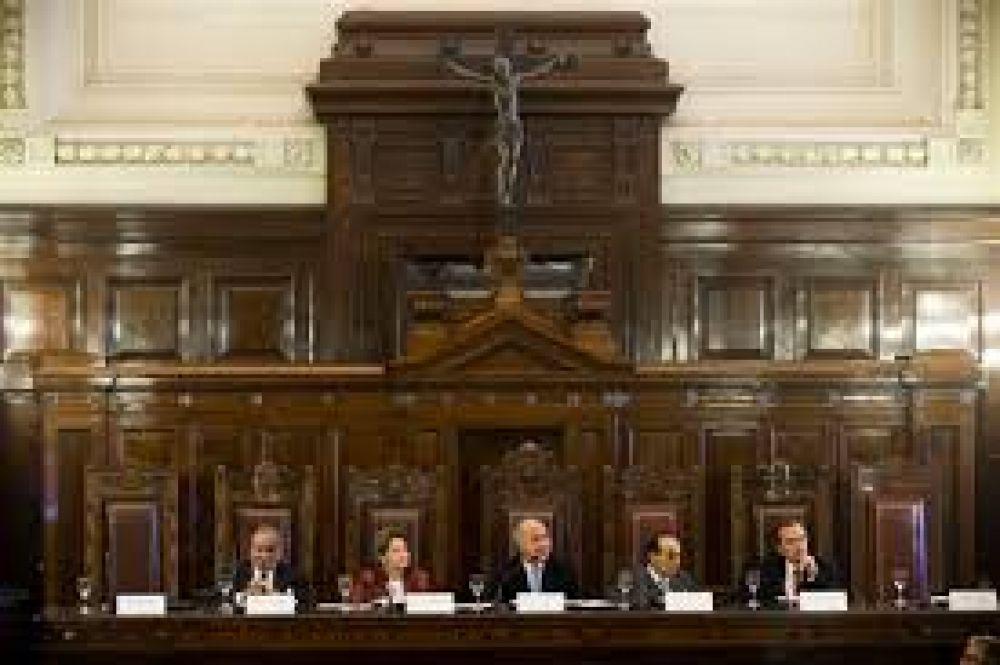 Paro de jueces en apoyo a declaración de guerra que hizo el Poder Judicial