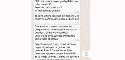Sebastián Alvarez denunció amenazas 2 imágenes
