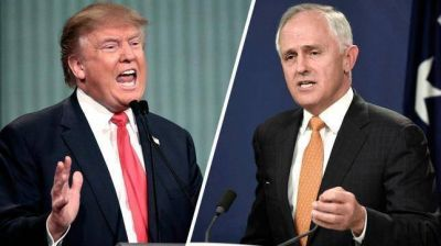 Trump le colgó al premier de Australia por una disputa sobre refugiados