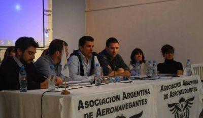 Aeronavegantes ratifica defensa del carácter público de Aerolíneas Argentinas