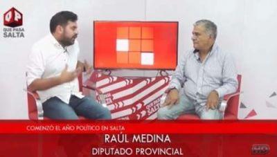 """Para Raúl Medina, """"los concejales de San Lorenzo viven en otro planeta"""""""