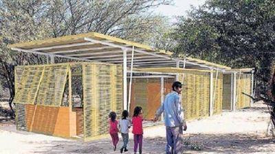 Comenzó la construcción de la casa para los wichis