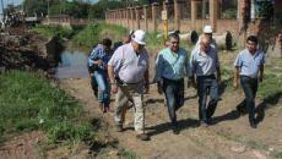 Avanzan las obras que realiza el municipio en el canal de la Termoeléctrica