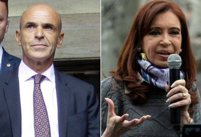 Cristina advirtió un cambio de discurso de Arribas en el Congreso