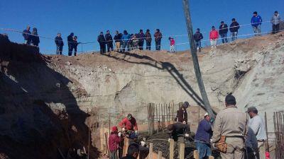Sergio Casas inaugurará el puente del río grande en Sanagasta