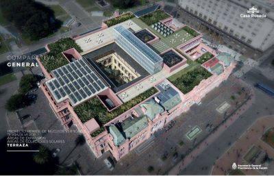 Macri gastará $285 millones para hacer reformas en la Casa Rosada