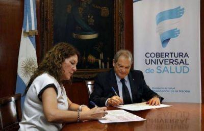 Chaco adhirió a la Cobertura Universal en Salud