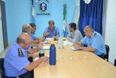 El gobierno definió ante la jefatura policial la política de seguridad para 2017