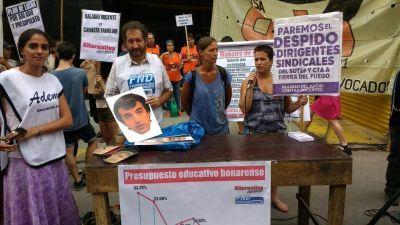 """Torres: """"Que Macri y los gobernadores vivan con 9.672 pesos de una maestra"""""""