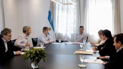 Macri recibe a miembros de la mesa chica del Gabinete en Olivos