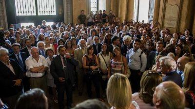 Protesta en Tribunales por el traspaso de la Justicia a la Ciudad