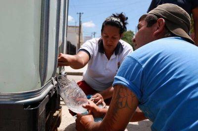 Una semana sin agua: El Intendente presentó un proyecto hídrico a Nación