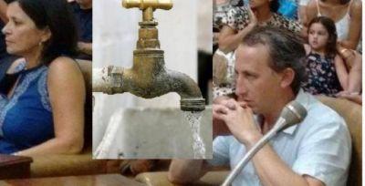 Concejales del FpV presentan nota al Ejecutivo respecto a la provisión de agua potable