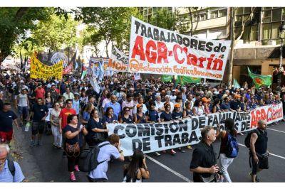 Pese a la movilización, Triaca sigue sin darle respuesta a los trabajadores de AGR