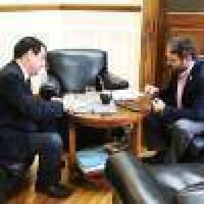 Se reunió con el subsecretario de Ganadería de la Nación