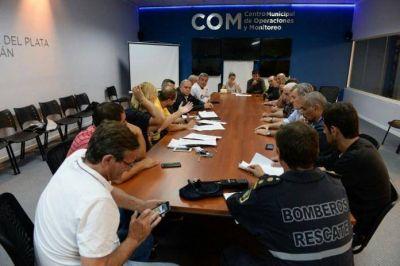 El Municipio brinda asistencia a 35 personas evacuadas