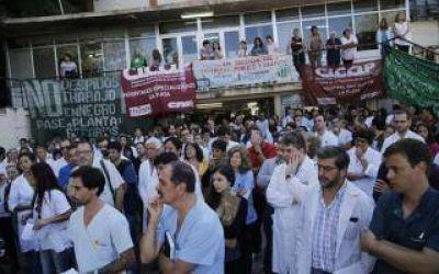 Segundo paro del año en los 80 hospitales bonaerenses