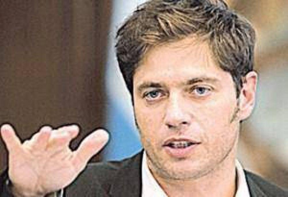"""Kicillof: """"Macri provocó el derrumbe económico del país"""""""