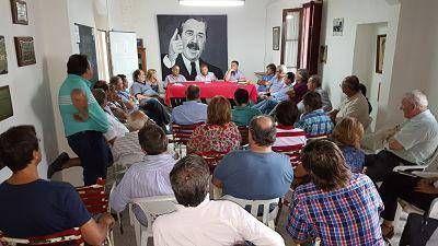 El radicalismo se reunió en Villaguay y acordó convocar a un Congreso en marzo