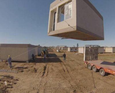 Ubicarán provisoriamente a vecinos de Villa Hermosa en módulos habitacionales