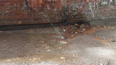 Pasé, miré y se lo conté a MDZ: así se derrocha el agua potable