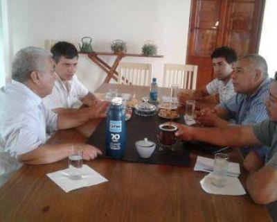 Mauricio Gálvez reemplaza a Horacio Azzoni en la Uocra