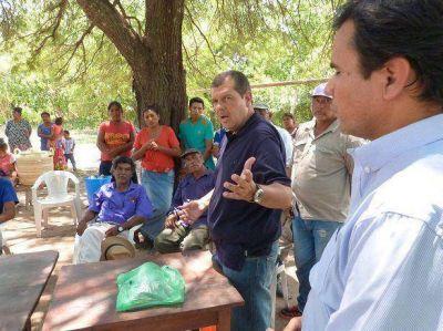 """""""Con hambre y sin agua no se puede hablar de un proyecto de provincia"""""""
