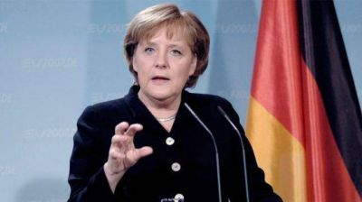 Angela Merkel quedó como la candidata de los conservadores alemanes