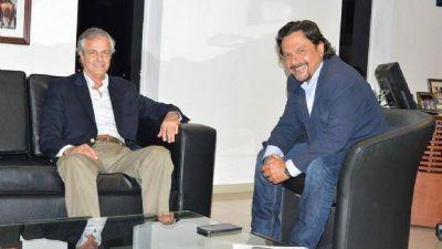 Durand Cornejo ratificó el apoyo a Sáenz