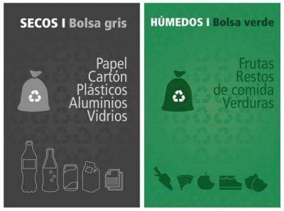 Lanzan el programa provincial de separación de residuos