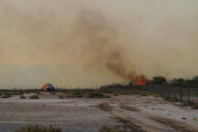 Incendios: productores reclaman ayuda para reparar alambrados