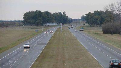 Licitan la repavimentación de 50 km de la autopista Santa Fe - Rosario