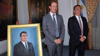 El gobierno homenajeó a Sergio Urribarri